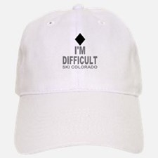 I'm Difficult Ski Colorado Baseball Baseball Cap
