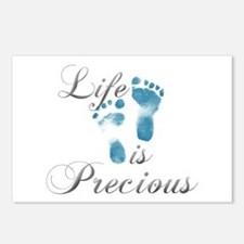 Life Is Precious Postcards (Package of 8)