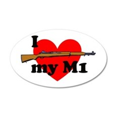 Love my M1 22x14 Oval Wall Peel