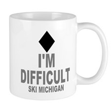 I'm Difficult ~Ski Michigan Small Small Mug