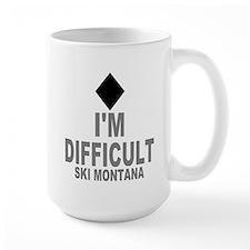I'm Difficult ~ Ski Montana Mug
