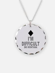 I'm Difficult ~ Ski Montana Necklace
