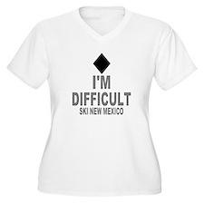 I'm Difficult ~ Ski New mexico T-Shirt