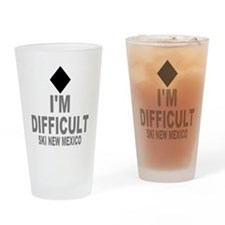 I'm Difficult ~ Ski New mexico Drinking Glass