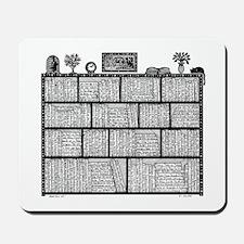 Bookshelf #4 Mousepad