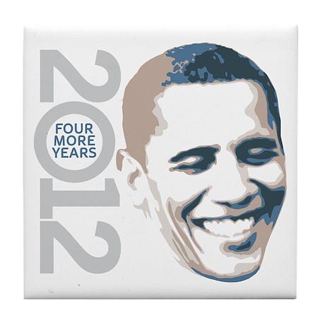 2012 Obama Face Tile Coaster