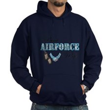 Proud Air Force Wife Hoody