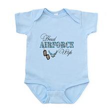 Proud Air Force Wife Infant Bodysuit