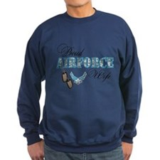 Proud Air Force Wife Jumper Sweater