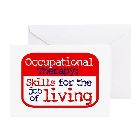 Occupational Therapy - Greeting Cards (Package of