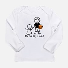 Big Cousin - Stick Characters Long Sleeve Infant T