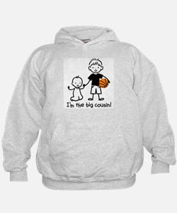 Big Cousin - Stick Characters Hoodie