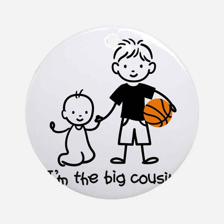 Big Cousin - Stick Characters Ornament (Round)