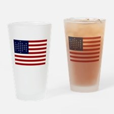 The Union Civil War Flag Pint Glass