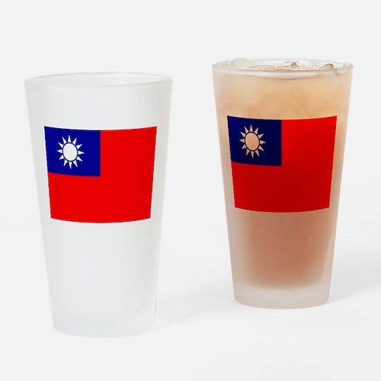 Taiwan Pint Glass