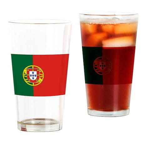 Portugal Pint Glass