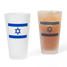 Israel Pint Glass