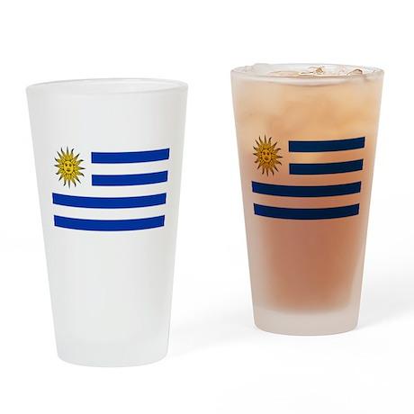 Uruguay Pint Glass