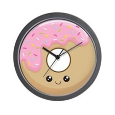 Donut! Wall Clock