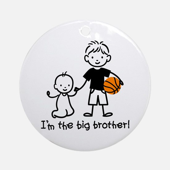 Big Brother - Stick Character Ornament (Round)