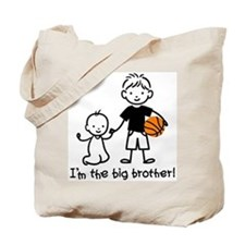 Big Brother - Stick Character Tote Bag