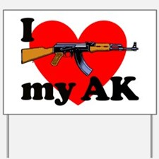 Love my AK Yard Sign
