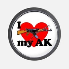 Love my AK Wall Clock