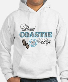 Proud Coast Guard Wife Hoodie