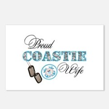 Proud Coast Guard Wife Postcards (Package of 8)