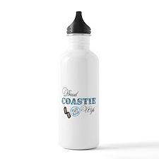 Proud Coast Guard Wife Water Bottle