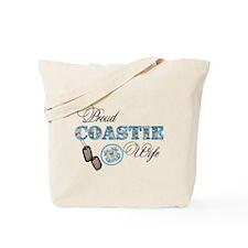 Proud Coast Guard Wife Tote Bag