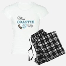 Proud Coast Guard Wife Pajamas