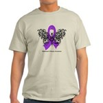 Alzheimer's Disease Tribal Light T-Shirt