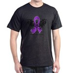 Alzheimer's Disease Tribal Dark T-Shirt