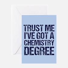 Chemistry Graduate Greeting Card