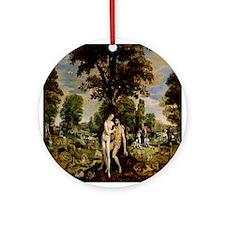 Garden Of Eden Ornament (Round)