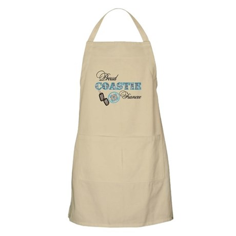 Proud Coast Guard Fiancee Apron