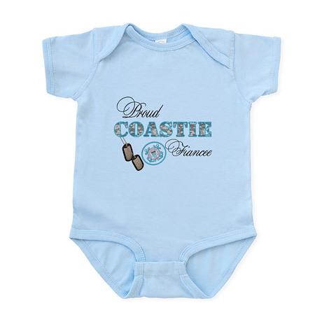 Proud Coast Guard Fiancee Infant Bodysuit