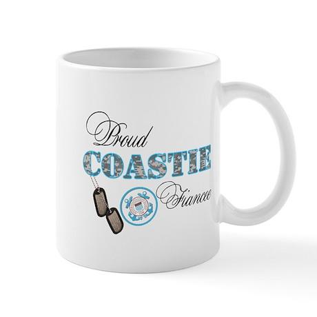 Proud Coast Guard Fiancee Mug