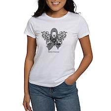 Diabetes Tribal Butterfly Tee