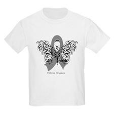 Diabetes Tribal Butterfly T-Shirt