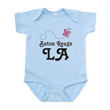 Pretty Baton Rouge Louisiana Infant Bodysuit