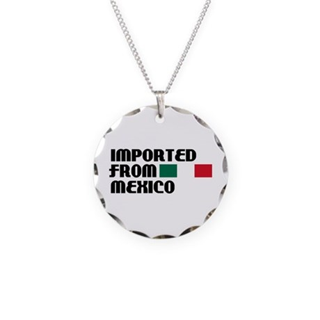 Imported From Mexico Necklace Circle Charm
