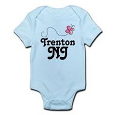 Pretty Trenton New Jersey Onesie