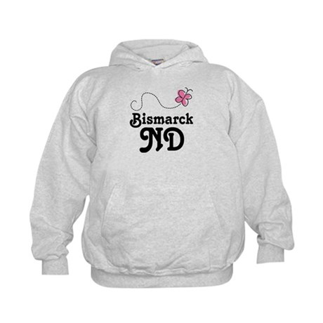Pretty Bismarck North Dakota Kids Hoodie