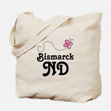 Pretty Bismarck North Dakota Tote Bag