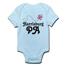 Pretty Harrisburg Pennsylvania Infant Bodysuit