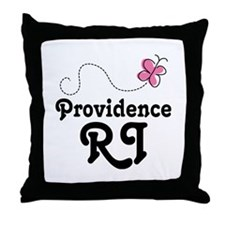 Providence Rhode Island Gift Throw Pillow