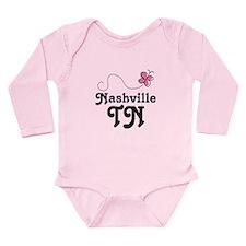 Nashville Tennessee Gift Long Sleeve Infant Bodysu