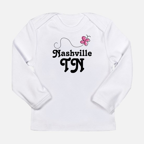 Nashville baby clothes cafepress nashville tennessee gift long sleeve infant t shir negle Choice Image